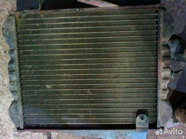Радиатор охлаждения на микроавтобус Субару с венти