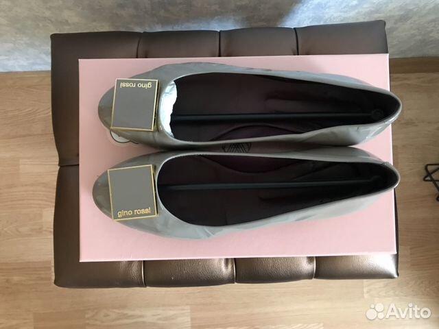 34de103092fd Балетки Gino Rossi кожаные