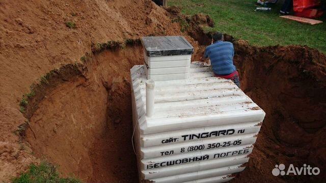 установка погреба тингард видео