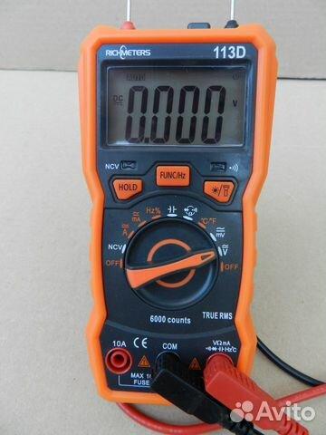 Мультиметр новый универсальный автомат 89515078107 купить 1