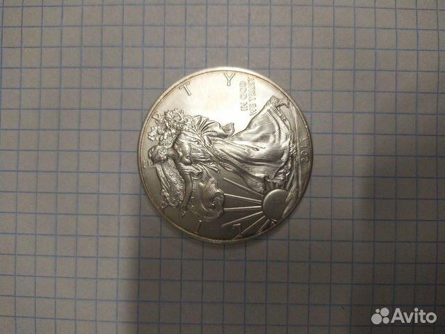 США 1 доллар Серебро
