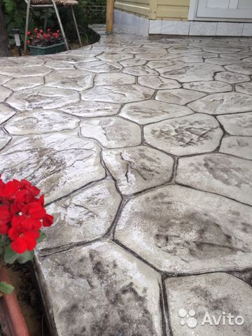 декоративный бетон анапа