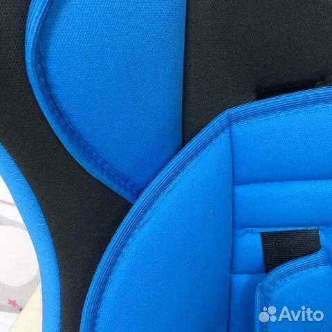 Автокресло 9-36кг LB 513 RF голубой