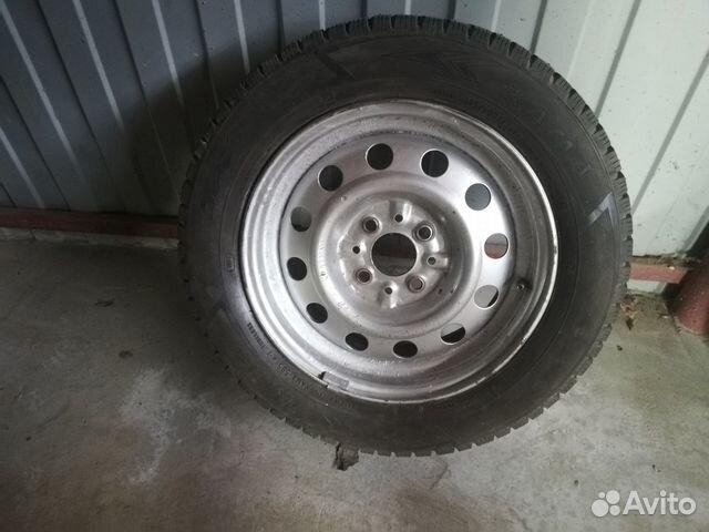 The wheel on VAZ