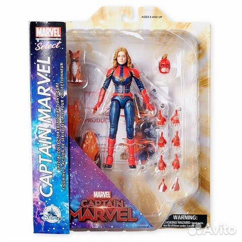 Фигурка Marvel Select Captain Marvel (Disney Store купить 2