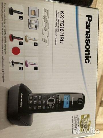 Радиотелефон Panasonic kx-tg1611ru  89047542085 купить 5