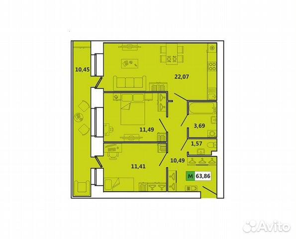 купить квартиру Индустриальная 11