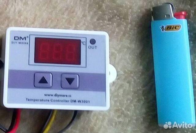 Контроль температуры с датчиком