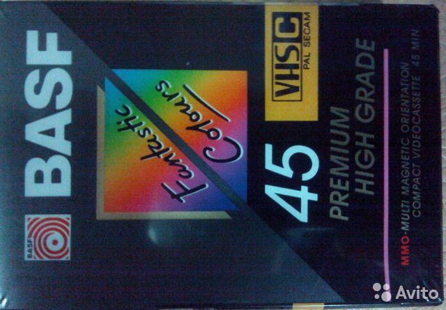 Кассеты svhs для видеокамеры (Япония, новые) 89212853955 купить 1