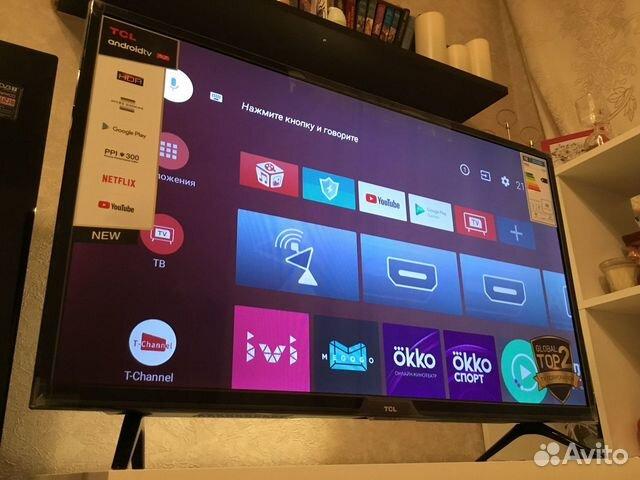 Смарт телевизор с голосовым управлением 32(новый) купить 1