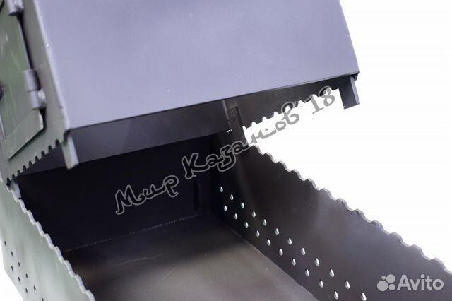 Мангал 100х30см разборный, сталь 4 мм 89511907273 купить 7