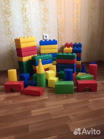 Набор игрушек (пластиковый конструктор)  89991673701 купить 1