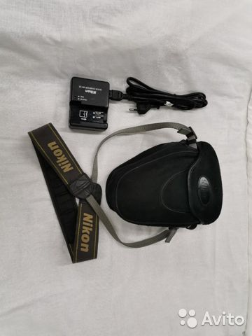 Фотоаппарат зеркальный Nikon D40