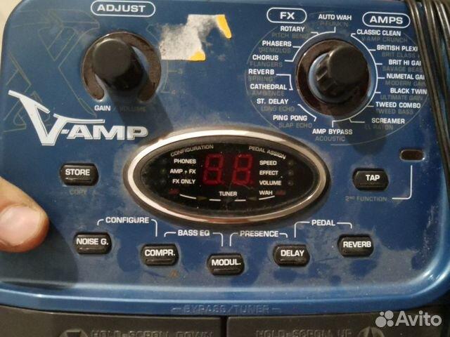 Behringer X V-AMP Гитарный процессор