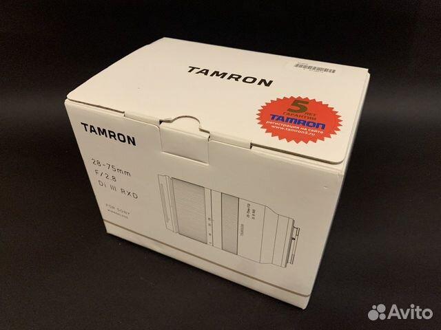 Sony A7s II + Tamron 28-75 f2.8 купить 6