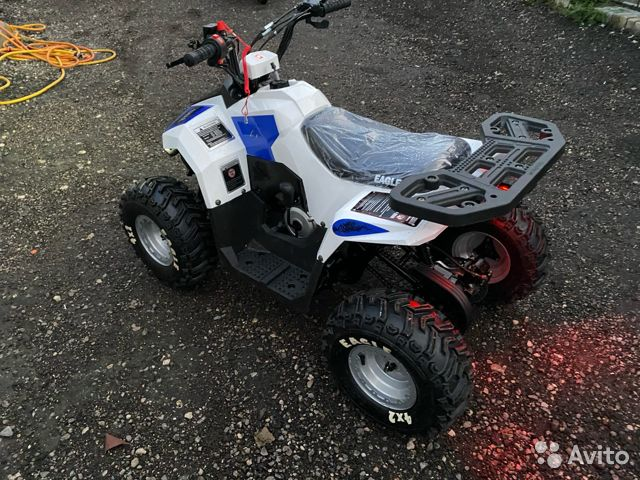Подростковый квадроцикл motoland eagle 2020  89803403030 купить 4