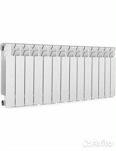 Биметаллические радиаторы Alcobro 350 мм