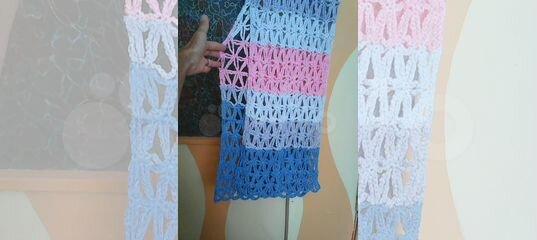62c82b2395143 Новое эксклюзивное платье, связанное крючком купить в Краснодарском крае на  Avito — Объявления на сайте Авито