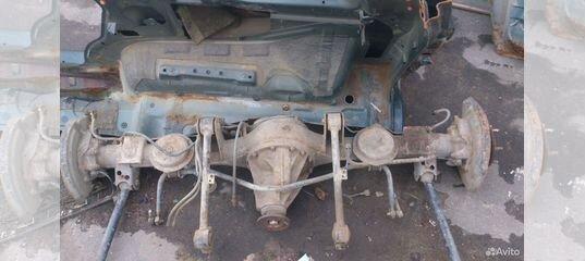 Nissan Patrol Y61 Задний мост 3л МКПП