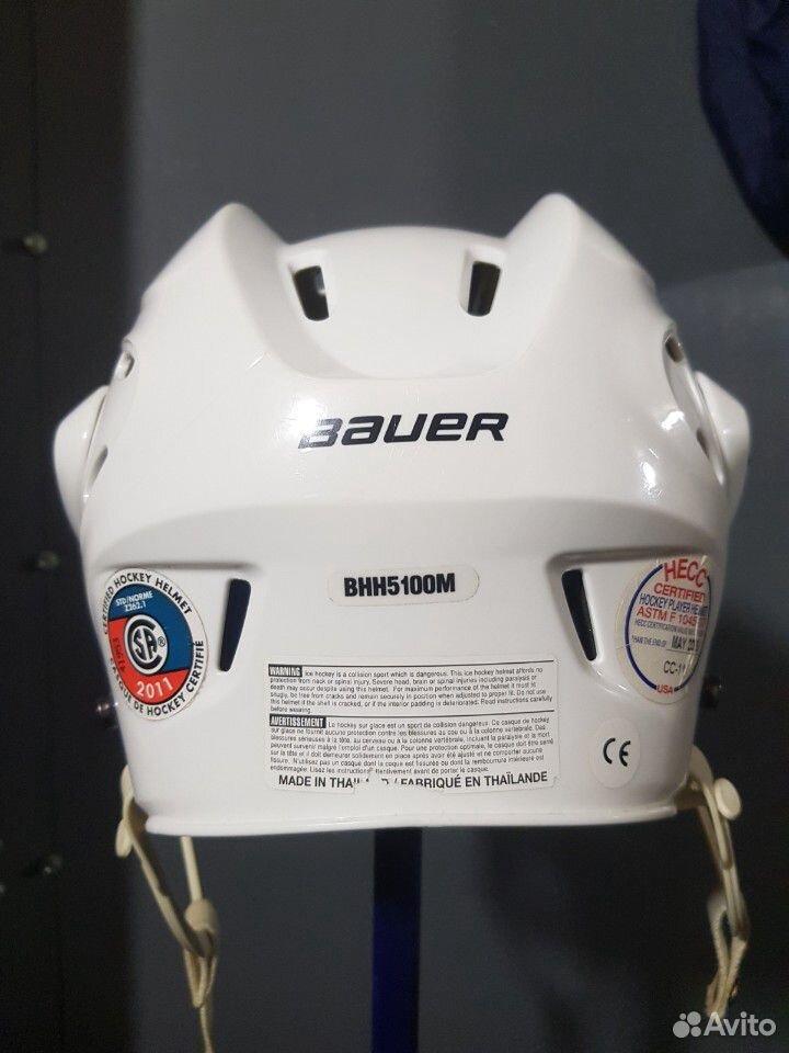 Хоккейный шлем bauer 5100. Размер M  89143382906 купить 2