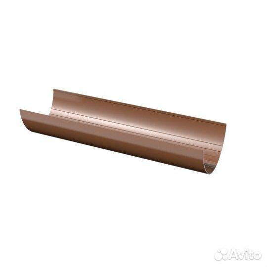 Желоб водосточный (коричневый / белый )