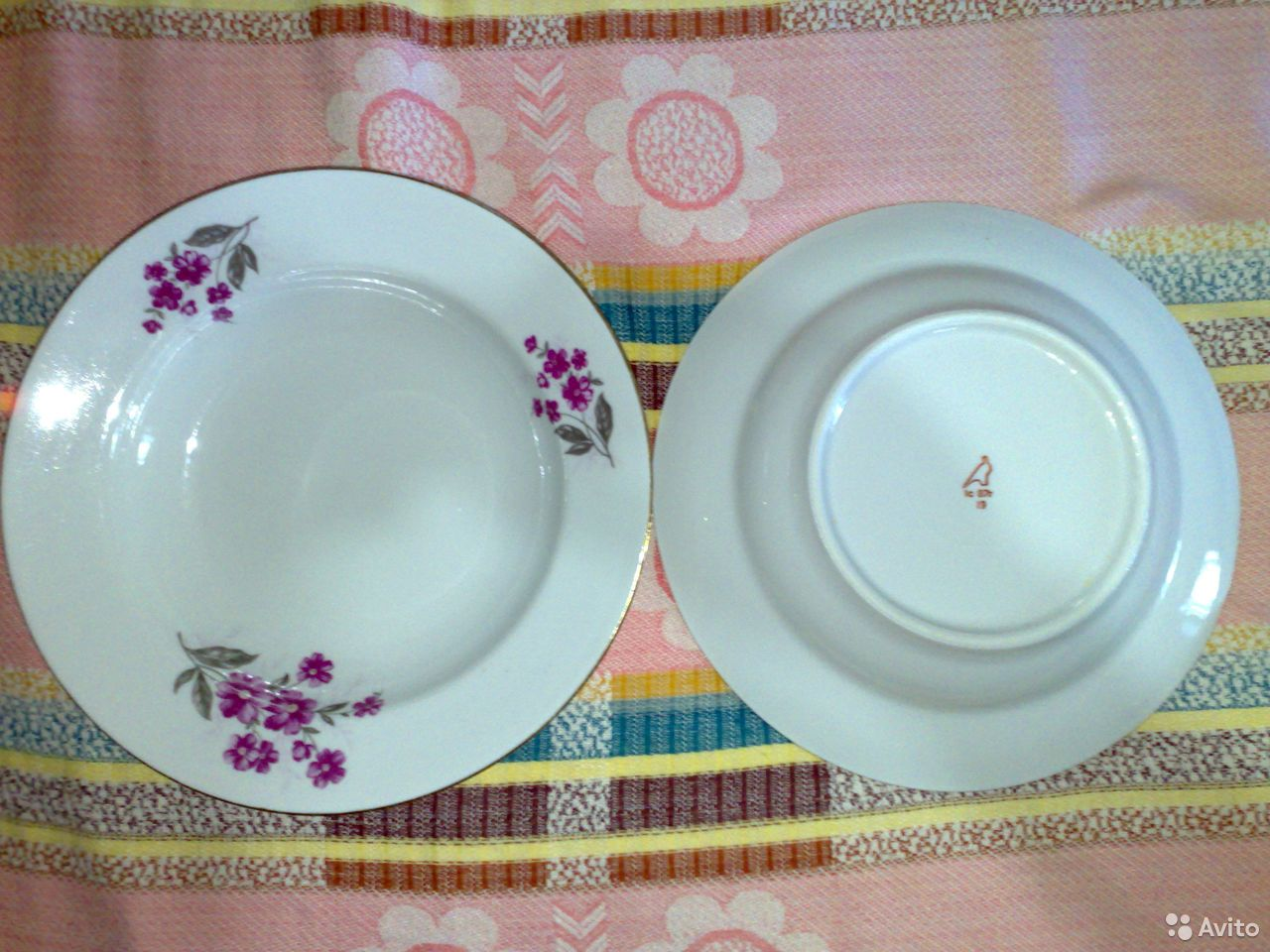 The plates of the USSR