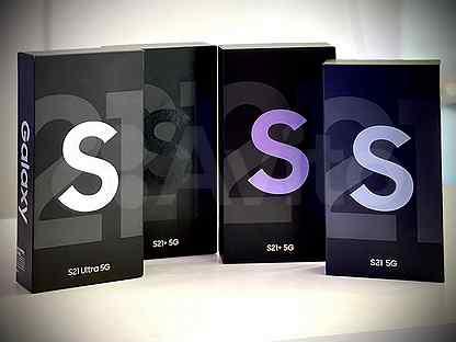 Samsung S21 S21+ S21 Ultra рст Новые