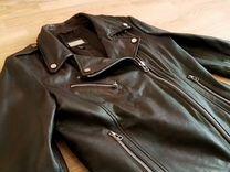 Кожаная куртка Mango (M)