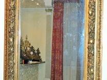 Зеркало в антикварной раме, Италия, XIX век