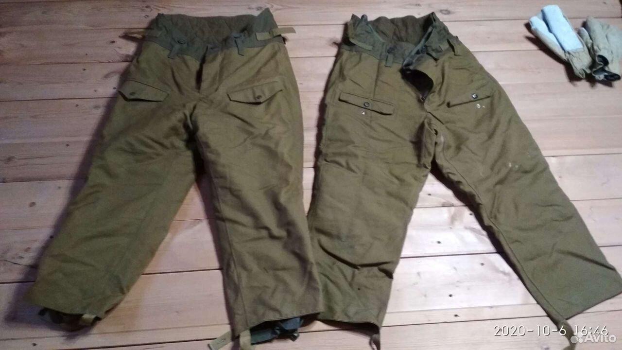 Боевая одежда пожарного, штаны утепленные 2 шт, шт