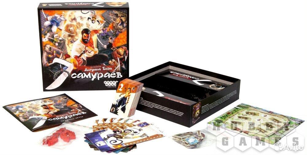 7 самураев. Настольная игра  89050971551 купить 2