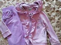 Трикотажный костюм для девочки.92-98 рост