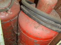 Газовый баллон 50 литров в приличном состоянии