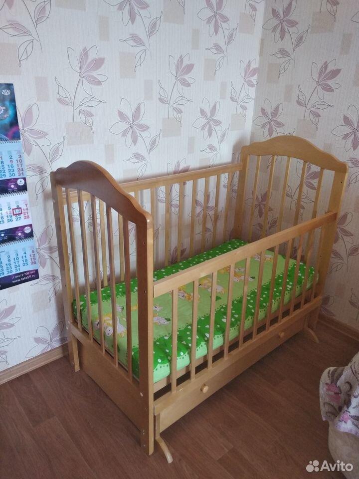 Детская кровать с матрасом  89504656807 купить 3