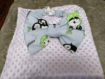 Бортики в детскую кроватку, одеяла на выписку, дет