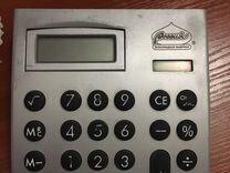 Калькулятор на солнечных и обычных батарейках