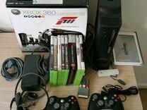 Xbox 360 Elite 60gb+игры+прошитая