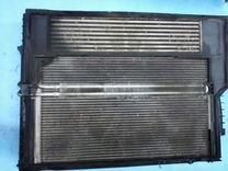 Кассета радиатора в сборе на бмв Е60 Е65 Е66