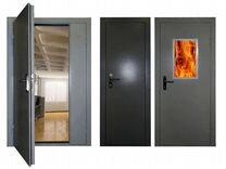 Двери противопожарные EI-60. В наличии