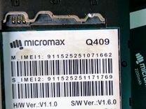 Micromax q409
