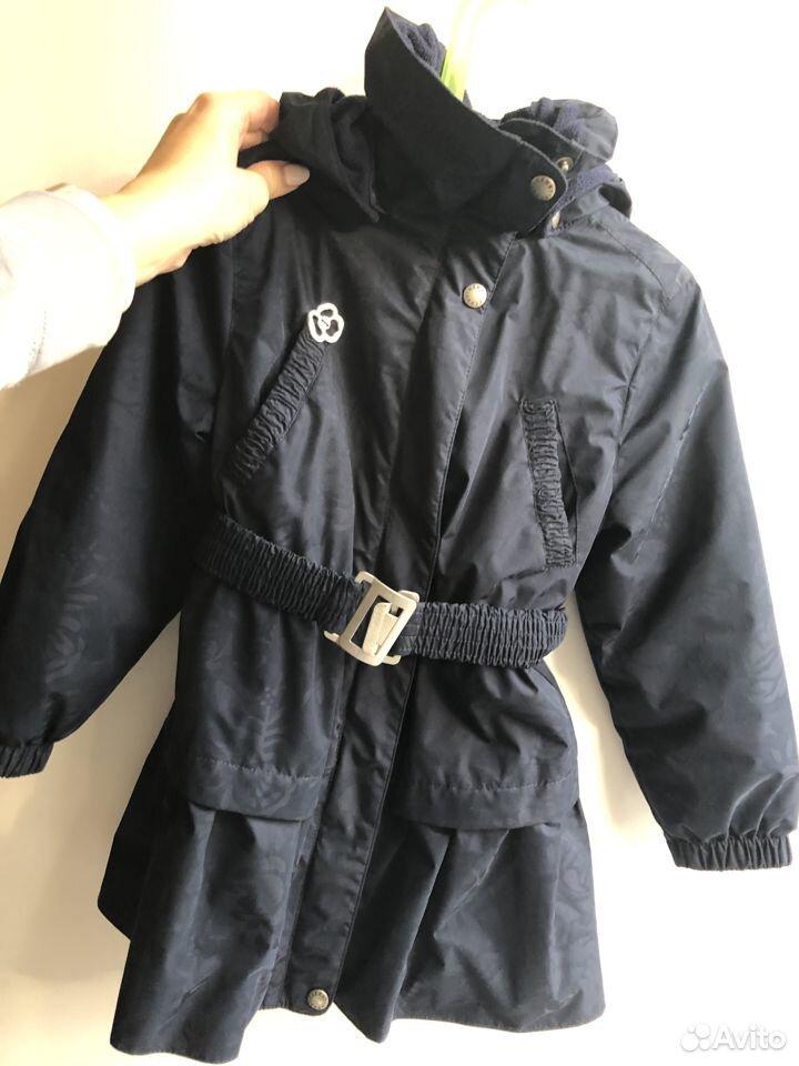 Пальто утепленное Kerry 4-5л  89119927412 купить 3