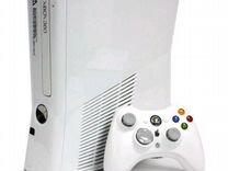 White(Белый перламутр) Xbox 360+375игp