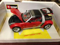 Smart Roadster coupe red BBurago 1/18