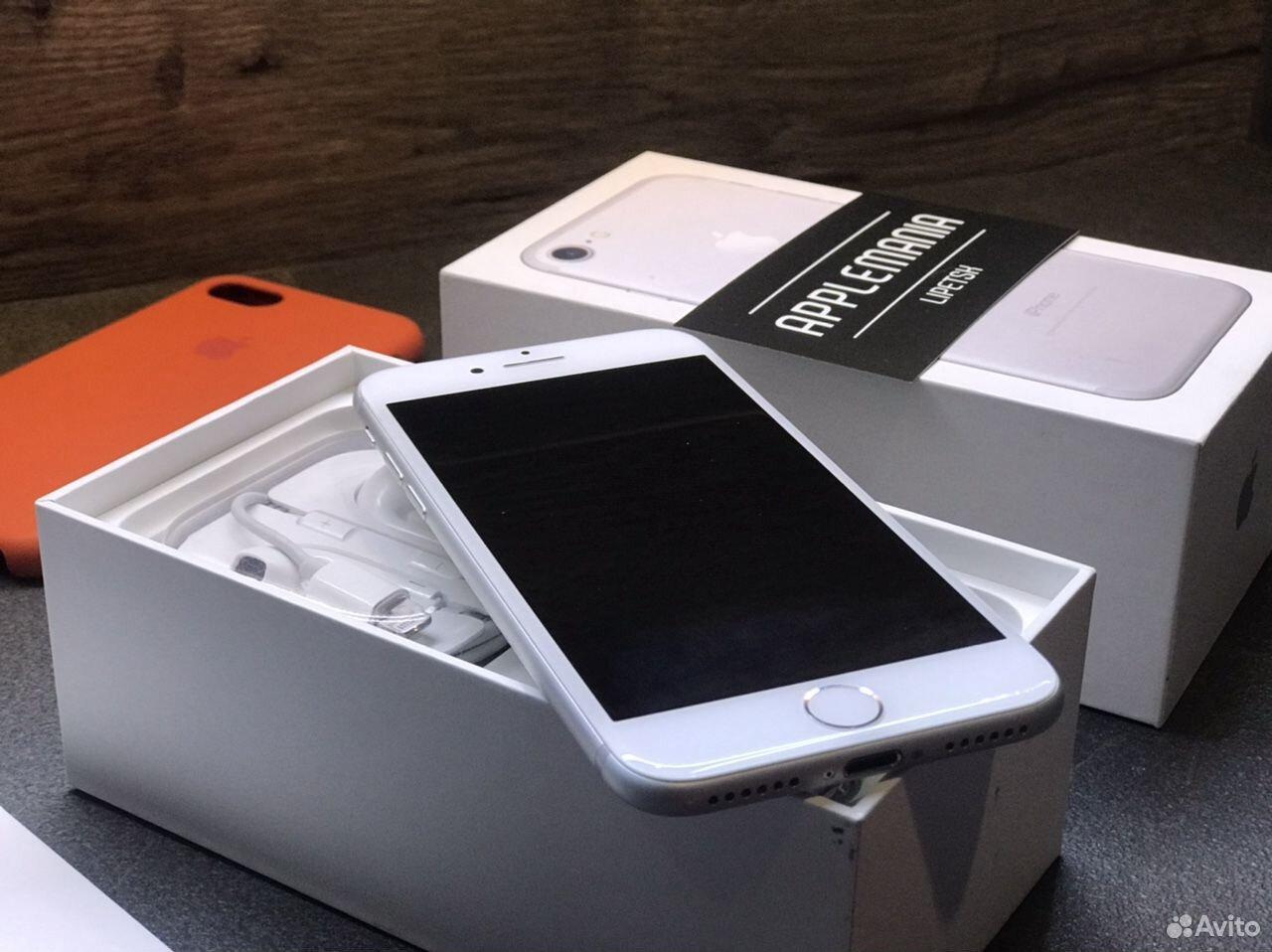 iPhone 7 32gb silver гарантия  89046868534 купить 3