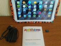 Планшет детский monsterpad microSD 32GB — Планшеты и электронные книги в Геленджике