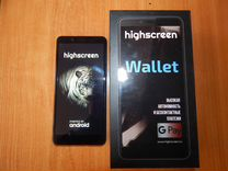 Смартфон Highscreen Wallet