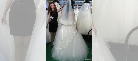 4860ae95063 Свадебное платье (корсет) + фата к платью купить в Краснодарском крае на  Avito — Объявления на сайте Авито