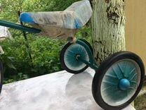 Велосипед трехколесный СССР детский «Малыш»