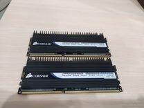 Комплект Corsair DDR3 4GB 2x2GB PC12800 1600Mhz