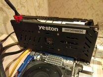 Видеокарта Yeston RX580 на 8GB — Товары для компьютера в Новосибирске